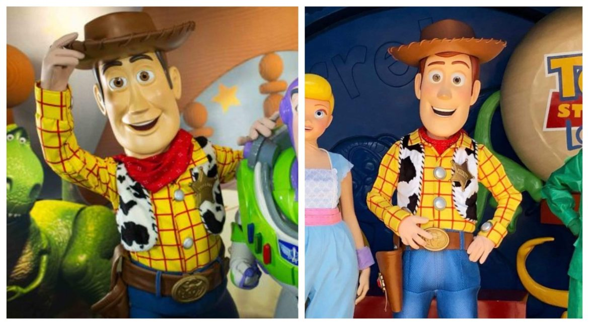 Woody Debuts With a New Look at Hong Kong Disneyland