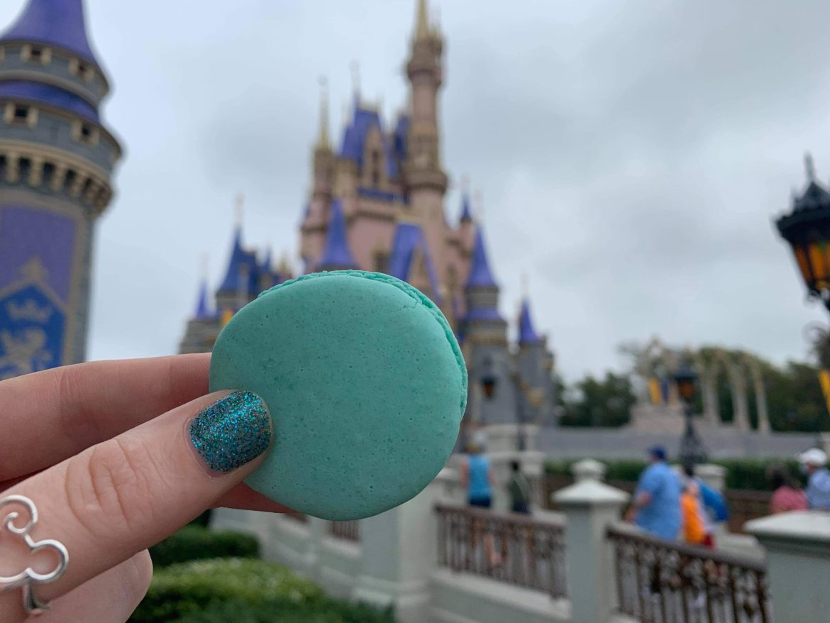 Super Cute Baby Yoda Macaron Spotted in the Magic Kingdom
