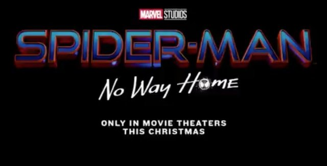 New Spider-Man: No Way Home title poster