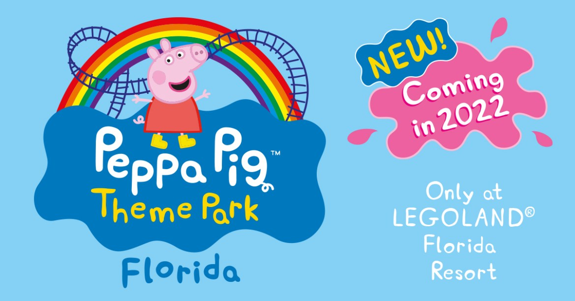World's first Peppa Pig theme park is coming to Florida!