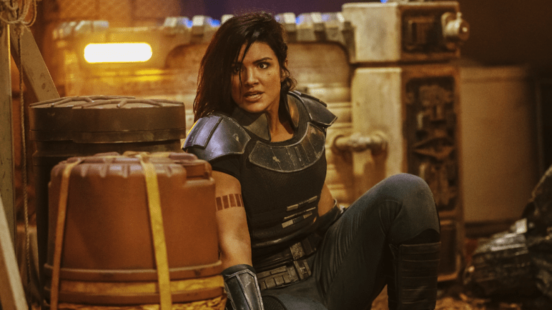 Mandalorian Star Gina Carano dropped by UTA talent agency over social media posts