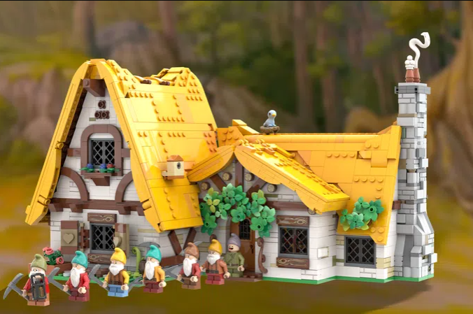 Support This Snow White and the Seven Dwarfs LEGO Project