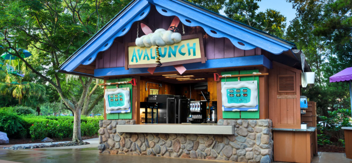 Avalunch in Disney's Blizzard Beach Opening Soon with New Menu Items