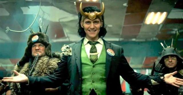 Tom Hiddleston as Loki in the new Marvel Studios Disney+ original series, Loki
