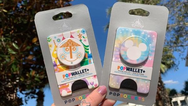 Small World and Tye-Dye Mickey PopWallets