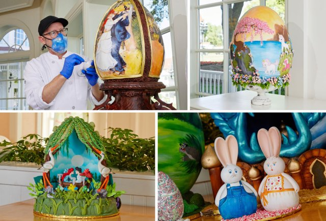 Disney World Resort Easter Egg displays are returning! 1