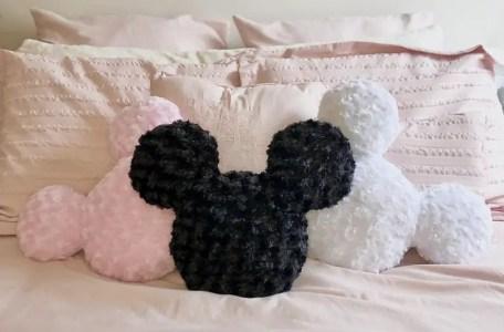 Plush Mickey Pillows