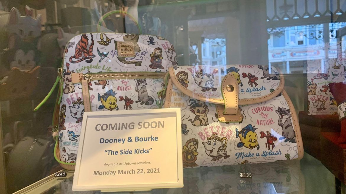 New Disney Sidekicks Dooney And Bourke Collection Coming Soon