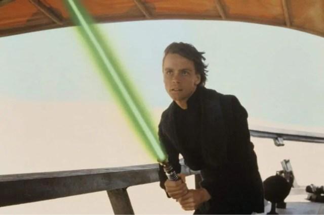 Sebastian Stan Luke Skywalker
