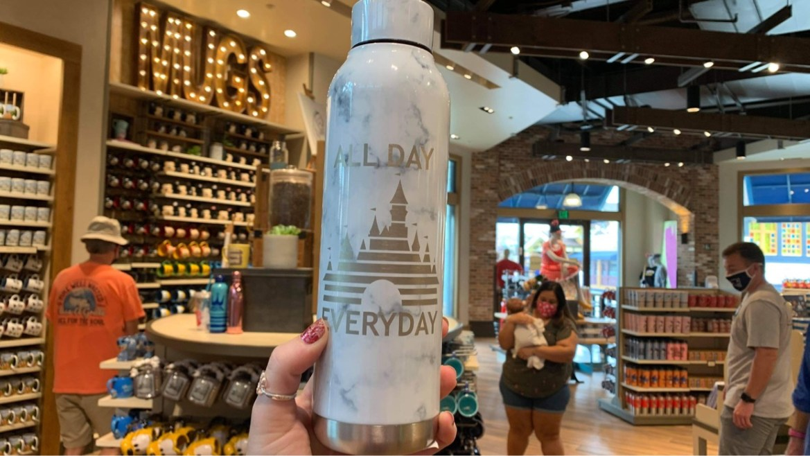 We love this New All Day Every Day Disney Tumbler now at Disney Springs