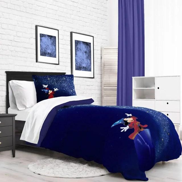 Sorcerer Mickey Comforter And Sheet Set 1