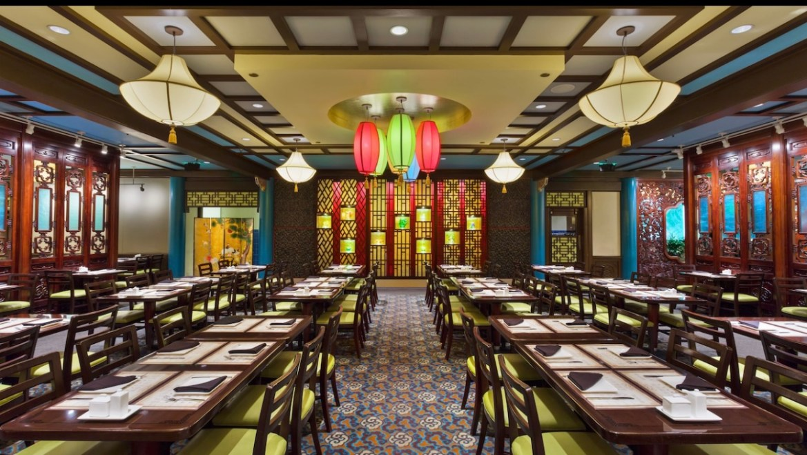 Nine Dragon Restaurant in Epcot reopens as overflow seating for Lotus Blossom Cafe