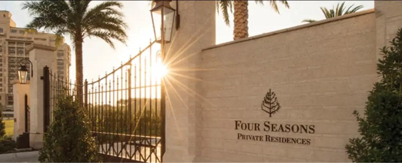 Live in luxury near Walt Disney World at Four Seasons Resort Orlando