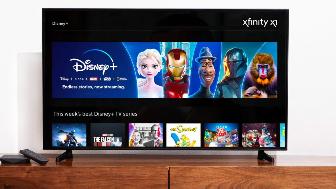 Comcast rolling out Disney+ on Xfinity Set-Top Platforms