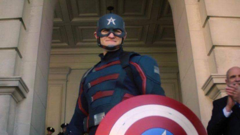 Who is the new Captain America on the Falcon & Winter Soldier