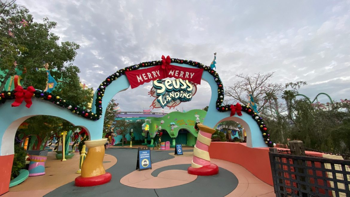 Universal will be Evaluating the Future of Seuss Landing
