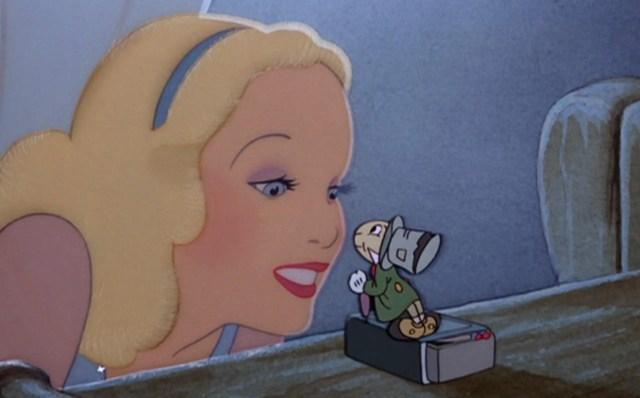 Blue Fairy and Jiminy Cricket from Disney's Pinocchio