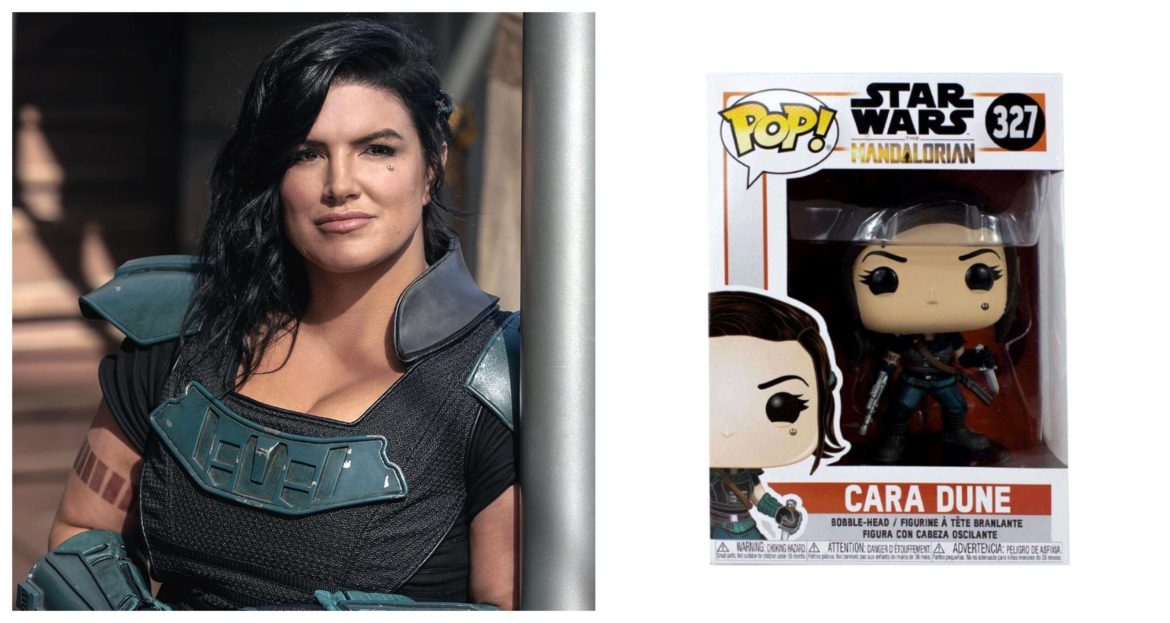 Funko Pop! Cancels Cara Dune Figurine After Gina Carano Firing from Star Wars 'The Mandalorian'