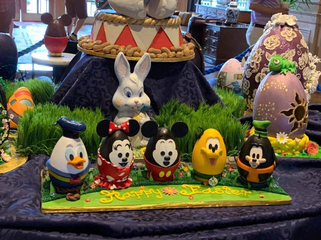 Disney World Resort Easter Egg displays are returning! 3