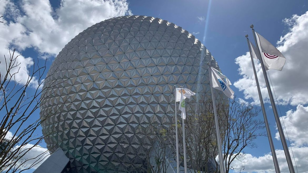 Listen to the New Entry Music in Epcot