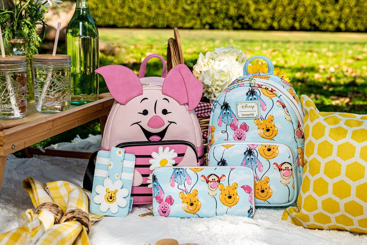 New Winnie The Pooh Loungefly Collection Has Sweet Spring Style
