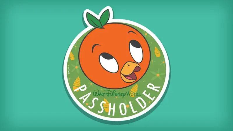 Orange Bird Annual Passholder Exclusive Magnet – Landing Early Summer