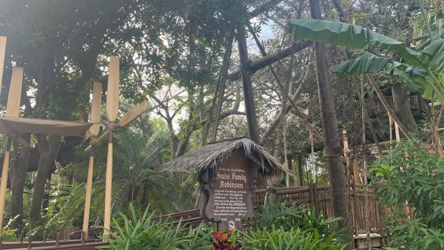 Swiss Family Robinson sign