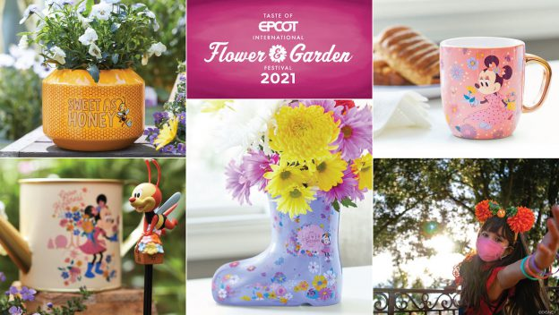 Check Out Some of the Lovely Epcot Flower & Garden Merchandise 1