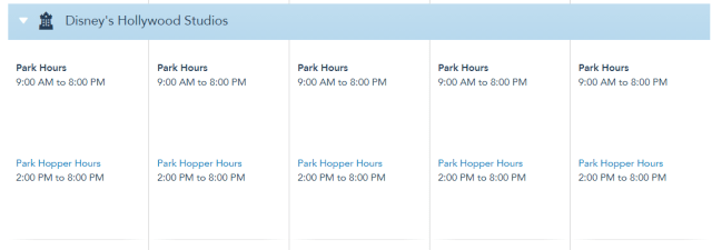 Theme Park Hours for Disney World have been extended in April! 4