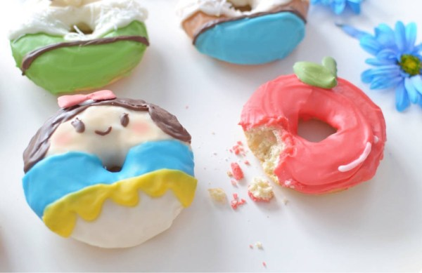 Snow White donuts