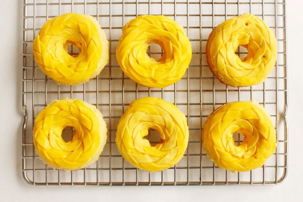 Rapunzel donuts