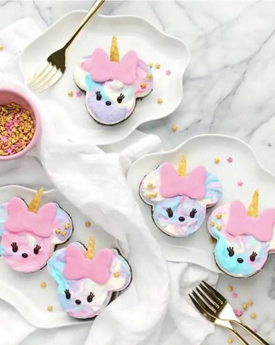 Minnie Unicorn cheesecake