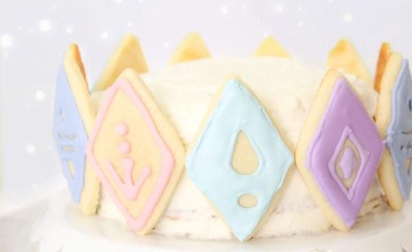 Frozen 2 cake