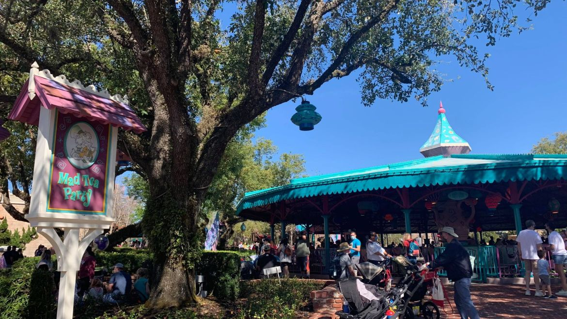 Mad Tea Party Reopens After Brief Refurbishment