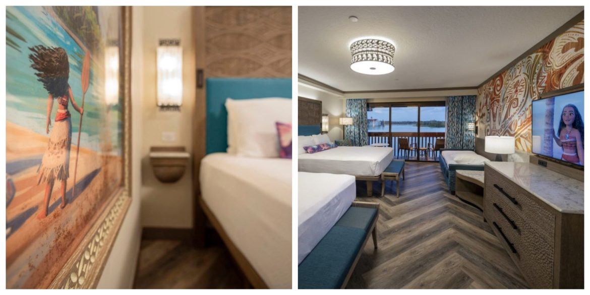 Moana Themed Rooms at Disney's Polynesian Resort are now available for booking