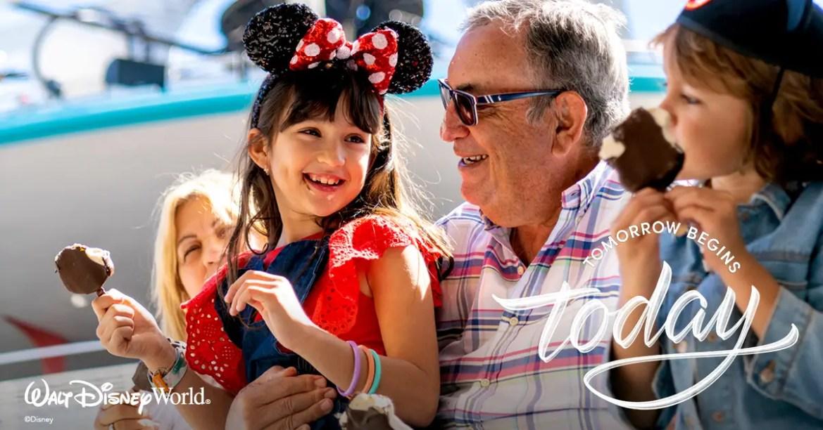 "Walt Disney World ""Tomorrow Begins Today"" Campaign"
