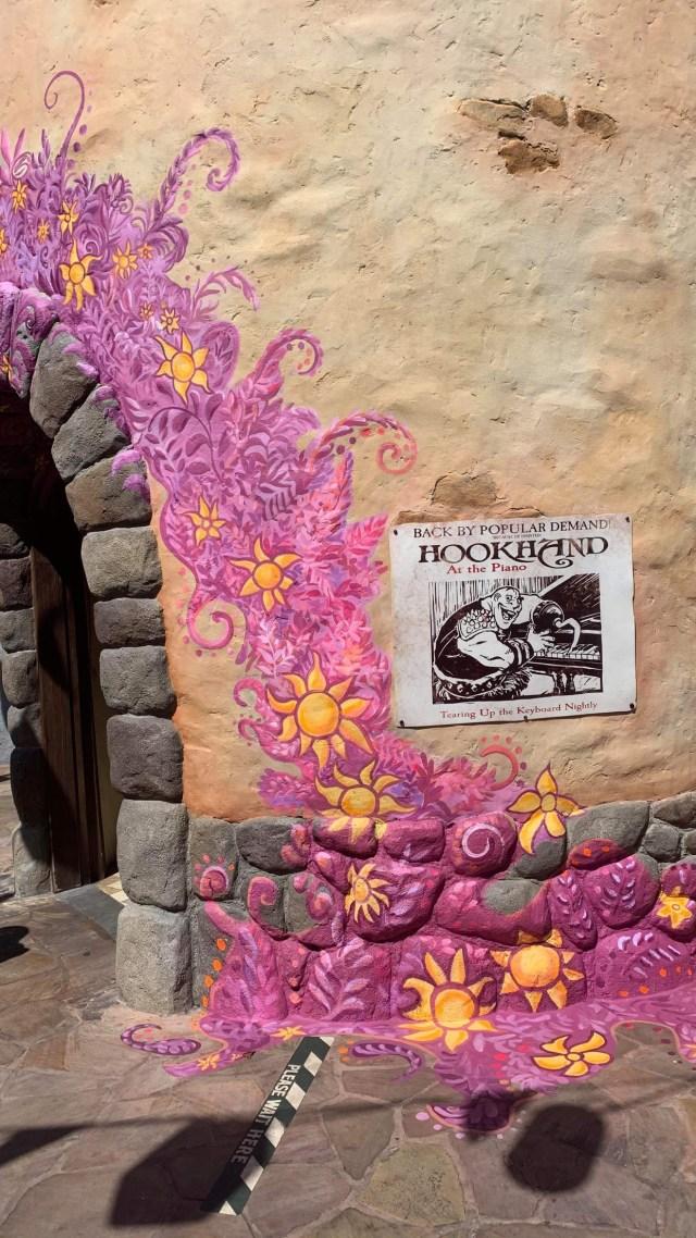 Tangled area in the Magic Kingdom gets a new paintjob 4