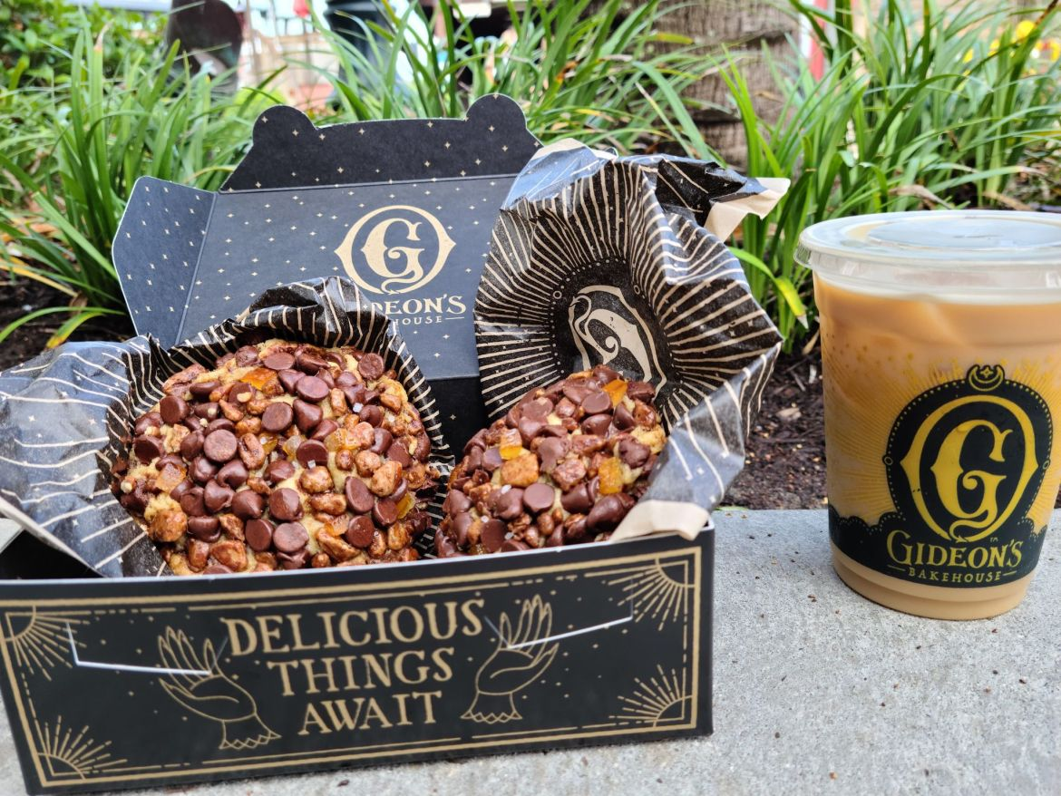 New cookie of the month at Gideon's Bakehouse – Orange Pecan Chocolate Chip Cookie