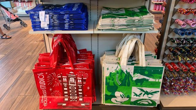 Disney Parks Reusable Bags