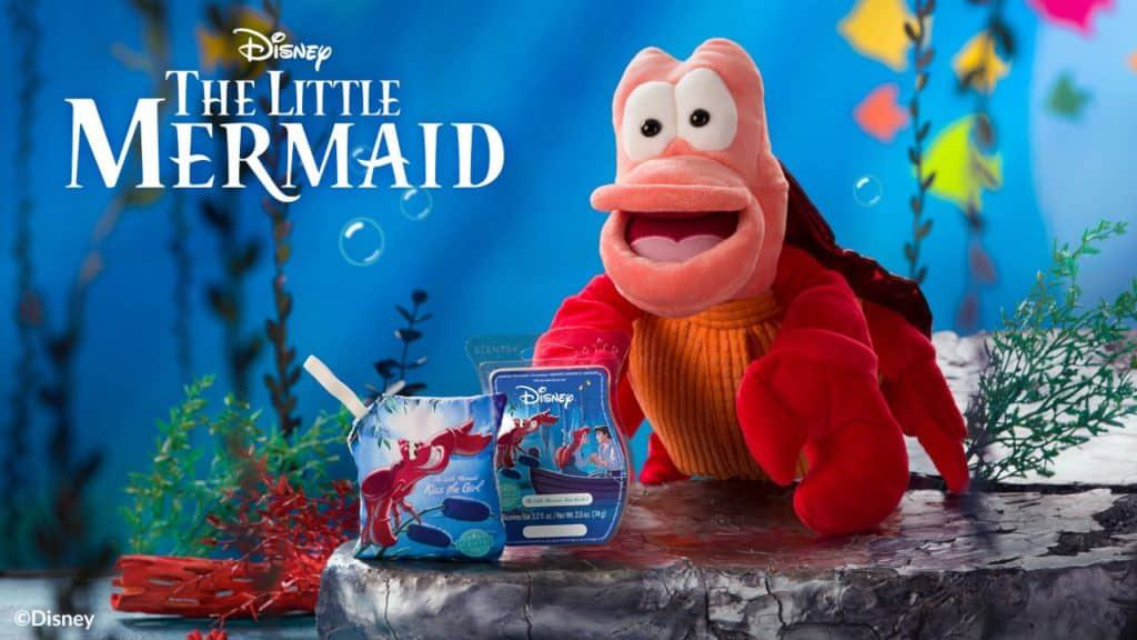 New The Little Mermaid Sebastian Scentsy Buddy