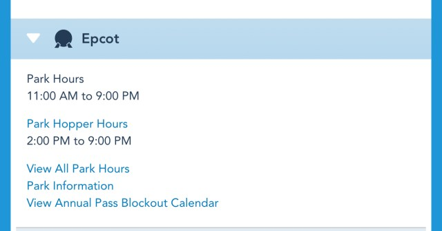 Disney World Theme Park Hours have been released through June 26th 3
