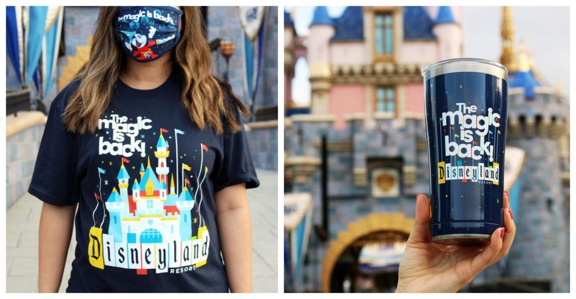 Magic is Back special merchandise coming to Disneyland