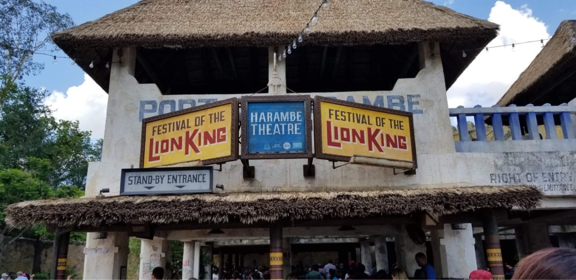 A Celebration of Festival of the Lion King will open in May 2021 at Disney's Animal Kingdom