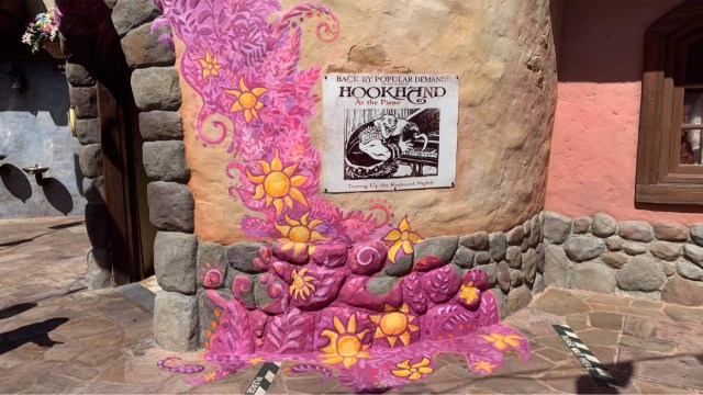 Tangled area in the Magic Kingdom gets a new paintjob 1