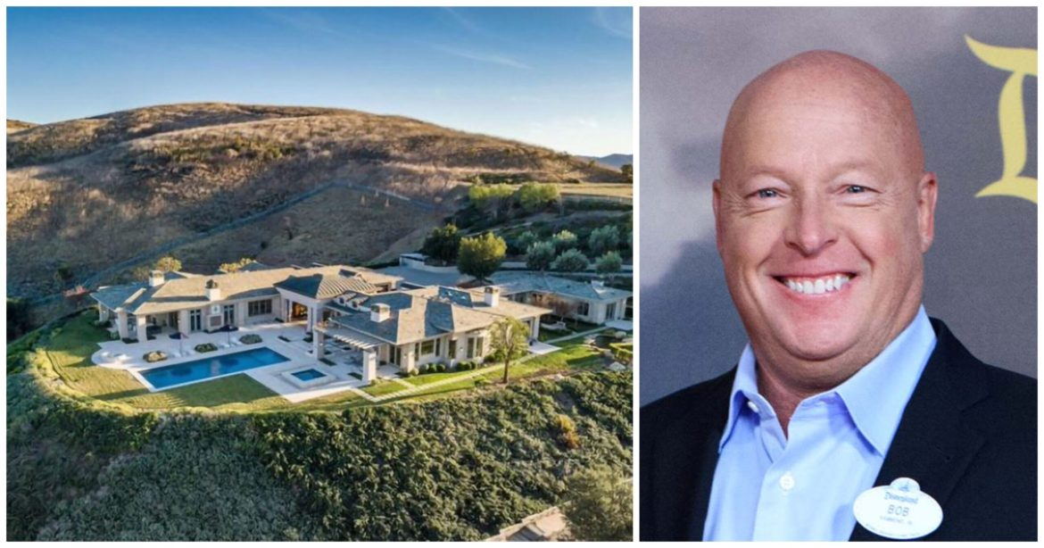 Check Out Bob Chapek's New $12.5 Million California Home