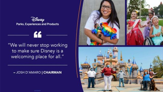 Disney Inclusivity Quote