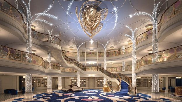 Disney Cruise Line Unveils Dazzling New Design Concept for the Disney Wish