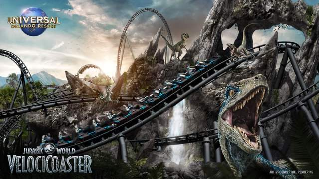 Jurassic World VelociCoaster Opening this June!