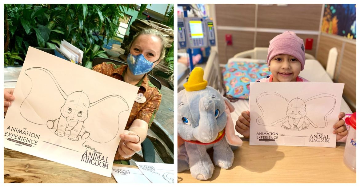 Disney World Virtually Brings Magic of Animals to Three Local Children's Hospitals