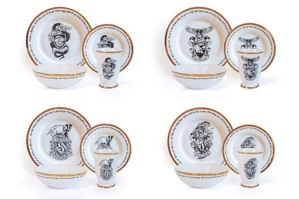Magical Harry Potter Hogwarts Houses Dishes